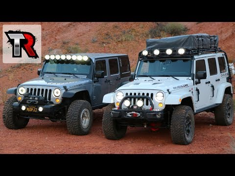 Off-Roading At Night Basic Tips