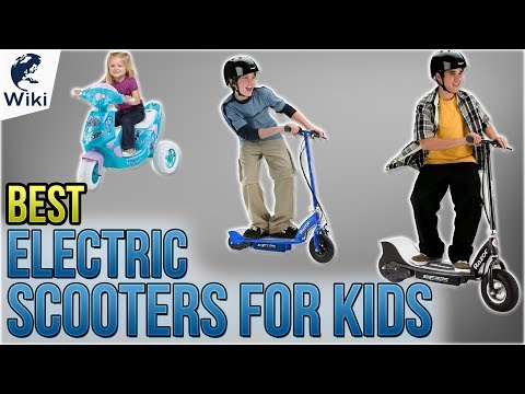 9 Best Electric Scooters For Kids 2018
