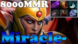 Dota 2 - Miracle- 8000MMR Plays Legion Commander vol 2 - Ranked Match Gameplay