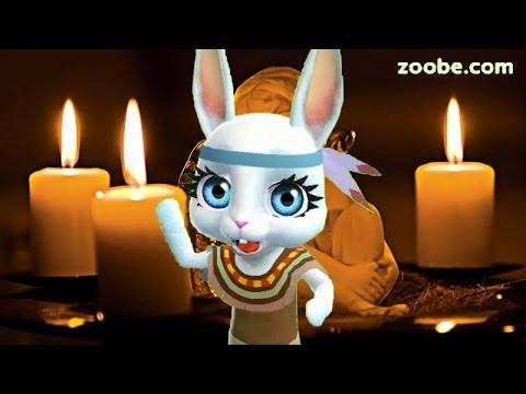 Zoobe Зайка Поздравление на Крещение!