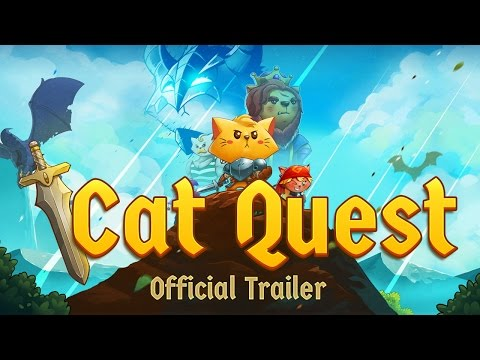 Cat Quest - Steam, iOS, Android - Official Trailer thumbnail