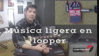 Como hacer un cover en un pedal Looper (loop Station)