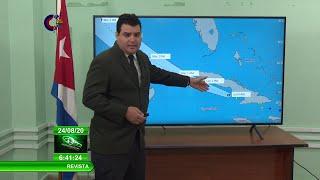 Actualidad, Tormenta Tropical Laura – Parte 6:30 AM, 24-8-20, MsC. Elier Pila