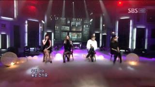 2NE1 - It Hurts (투애니원 - 아파) @ SBS Inkigayo 인기가요 101031