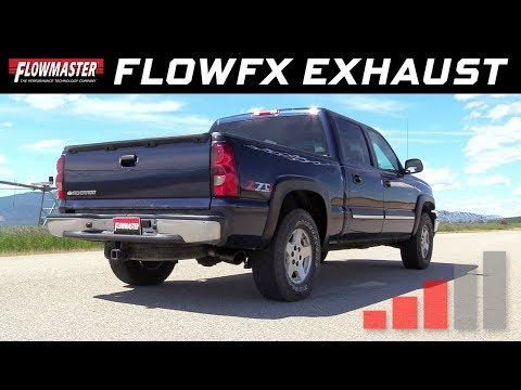 1999-07* GM Silverado/Sierra 1500 trucks 4.3L, 4.8L & 5.3L - FlowFX Cat-back Exhaust - 717873