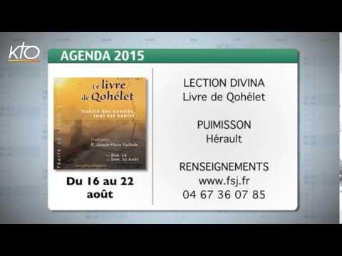 Agenda du 17 juillet 2015