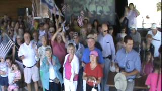 Standing with Israel 8-24-11 morning