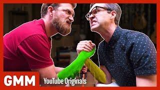 Sticky Arm Wrestling Challenge