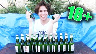 The Cider Challenge   (Feat. HowToBasic) *VOMIT WARNING* (18+)