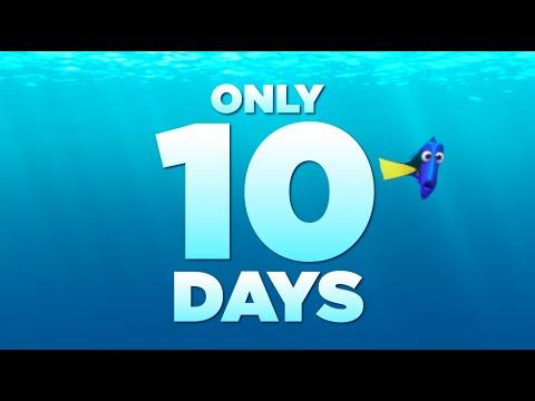Finding Dory (TV Spot 'Ten Days')
