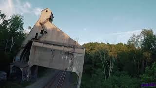 Lansing Abandoned Coal Loader / Fpv Freestyle