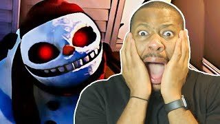 SCARIEST SNOWMAN GAME EVER! (Frosty Nights)