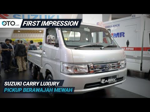Suzuki Carry Luxury | First Impression | Pickup Berawajah Mewah | OTO.com