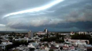 preview picture of video 'Tormenta - Santa fe  Argentina'