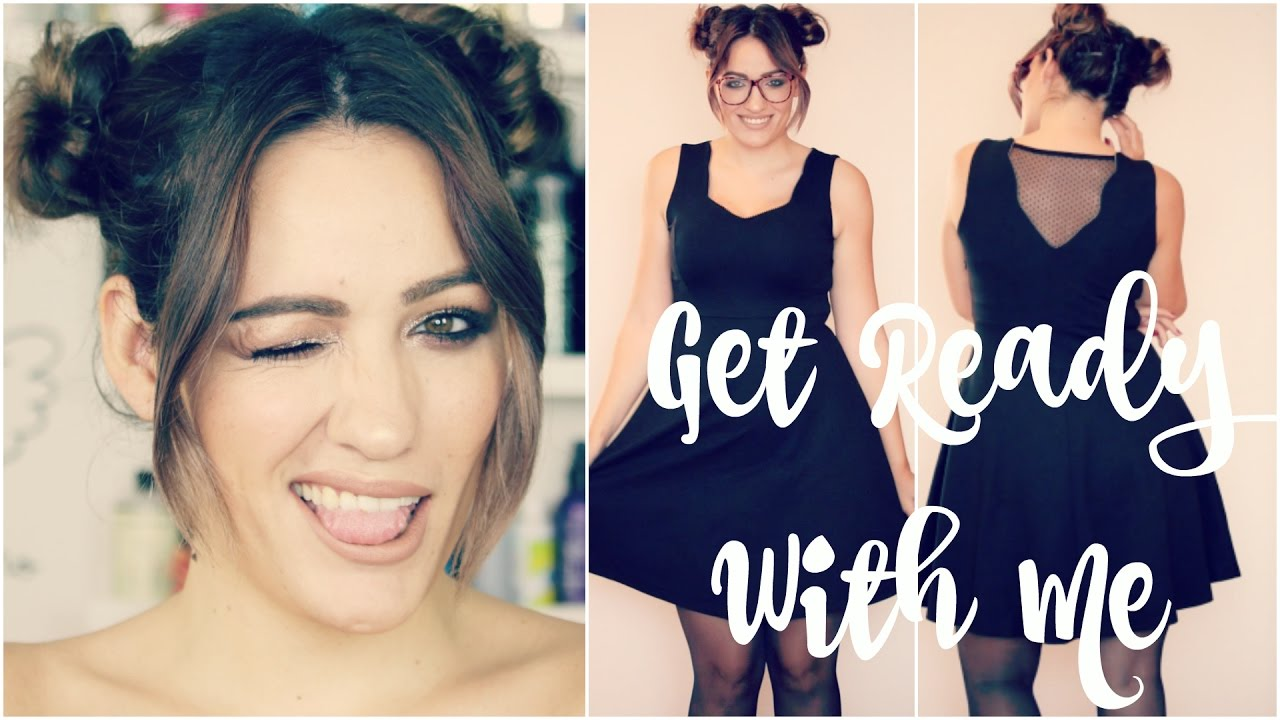 Get Ready With Me: Peinado, maquillaje y outfit