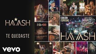 """Video thumbnail of """"HA-ASH - Te Quedaste Versión Acústica [Cover Audio]"""""""