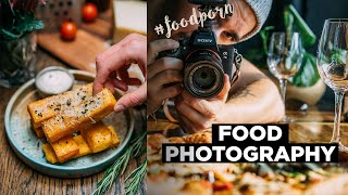 10 FOOD Photography TIPS (From Beginner To Advanced) | Behind The Scene