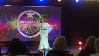 Venus Pelobello - Greatest Love of All WCOPA 2017 Semi-finals