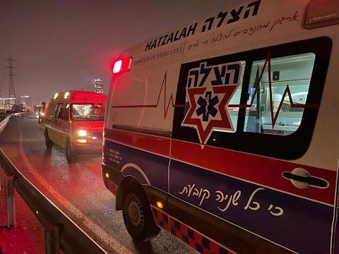 בני ברק: בן 30 נפצע קשה בתאונת אופניים חשמליים ורכב
