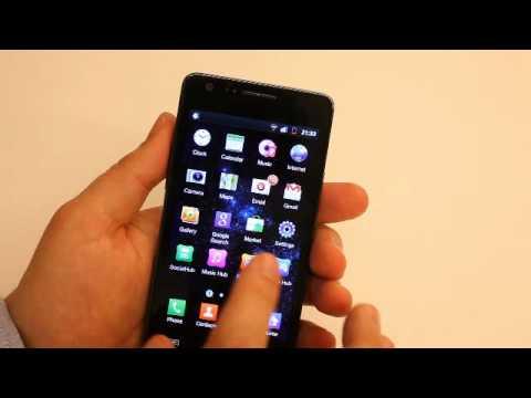 Samsung I9100 Galaxy S II UI demo [MWC 2011]
