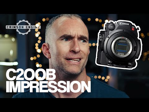 Canon c200b first impressions