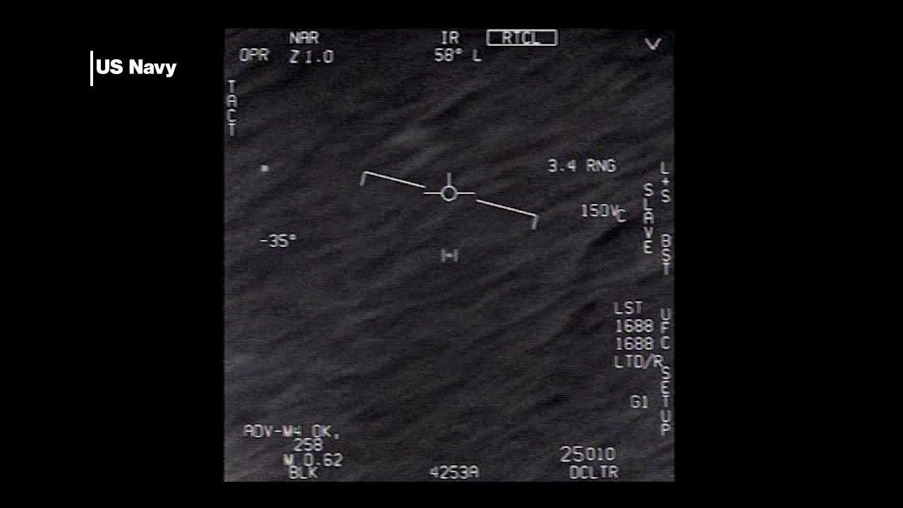 Pentagon declassifies leaked 'UFO' videos (VIDEO 3/3)