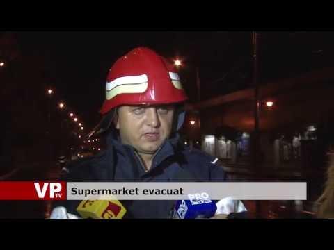 Supermarket evacuat