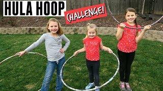 HULA HOOP CHALLENGE AND TRICKS!