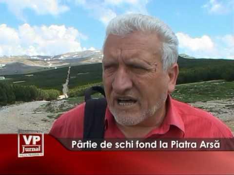 Pârtie de schi fond la Piatra Arsă