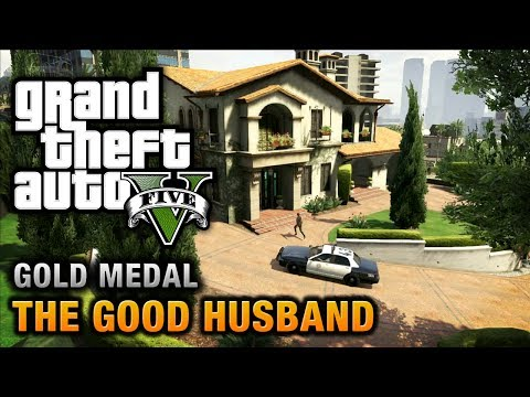 GTA 5 - Mission #10 - The Good Husband [Optional Mission]