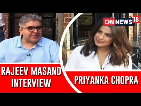 Rajeev Masand and Priyanka Chopra interview gossip