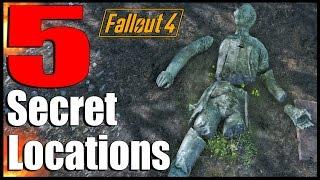 Fallout 4: 5 Secret Locations with Secret Loot! | Ep. 8 (Fallout 4 Secrets)