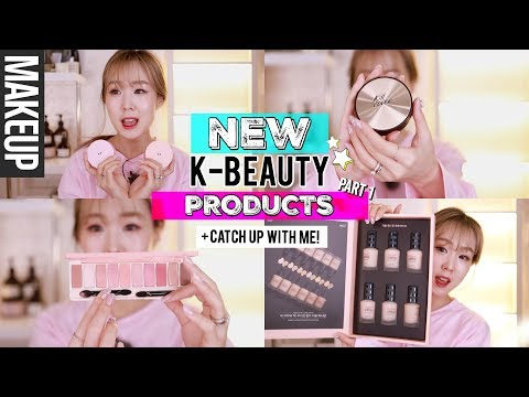 NEW KOREAN BEAUTY PRODUCTS #1 ❤️ Catch Up With Moi! Pyunkang Hospital, 99%IS Fashion Show | Meejmuse