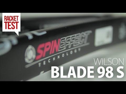 Wilson Blade 98S 18x16 Spin Tennisschläger 2014 im Test-Bericht