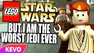 Lego Star Wars but I am the worst Jedi ever