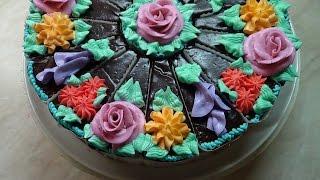 Порционный торт