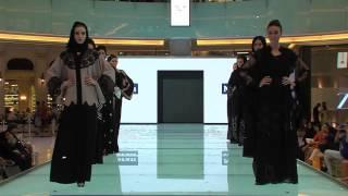NOORAN  Fashion Show  In Dubai Mall