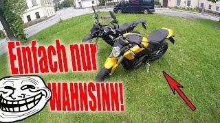 Elektro-Motorrad Probefahrt! Meine Reaktion | ZERO S |