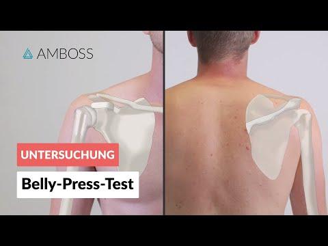 Ellenbogen Bursitis Wirkungen der Operation