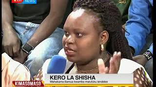 Kimasomaso: Kero la Shisha,matumizi ya madawa za kulevya na athari zake-sehemu ya pili