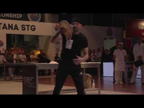 Pizzaiolo im Wettkampf - Pizza Weltmeisterschaft 2017