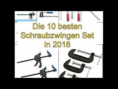 Die 10 besten Schraubzwingen Set in 2018