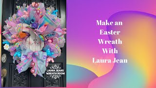 How To Make A Easter Wreath In Poof, Kruffle And Rolls