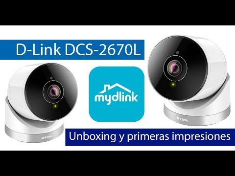 D-Link DCS-2670L: Conoce esta cámara de exterior Full HD y visión 180 grados