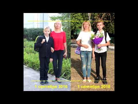 РЕЗУЛЬТАТЫ РОСТА РЕБЕНКА ЗА ДВА ГОДА  принимал аминокислоты + витамины