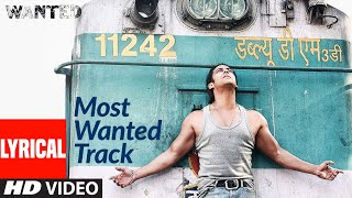 Lyrical: Most Wanted Track | Wanted | Prabhu Deva, Salman Khan | Sajid, Wajid - Download this Video in MP3, M4A, WEBM, MP4, 3GP