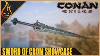 Conan Exiles Sword Of Crom Legendary Weapon Spotlight