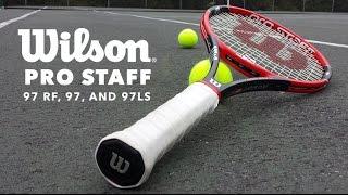 Ρακέτα τέννις Wilson Pro Staff 97 LS video