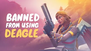 This is why I'm BANNED from using the DEAGLE!