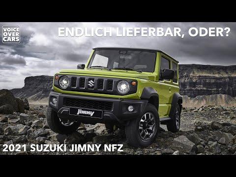2021 Suzuki Jimny NFZ Preis Leistung Kofferraum Ladevolumen Ausstattung Lieferzeit Voice over Cars